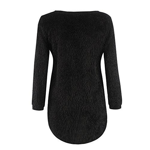 VLUNT - Pull - Femme Noir