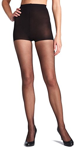 Levante Control Top & Medium Leg Support Relax Tights-XX-Tall-Black (Control Leg Top Strumpfhose)