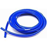"""Autobahn88 Manguera de vacío de silicona de alto rendimiento, ID 0,31""""(8mm), OD 0.55"""" (14mm), 10 pies (3 metros), de carrete azul"""