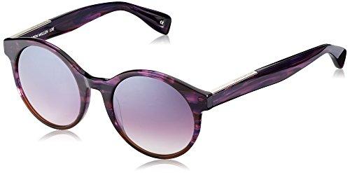 KAREN MILLEN KM5017 Sonnenbrille, Violett (Plum), 53
