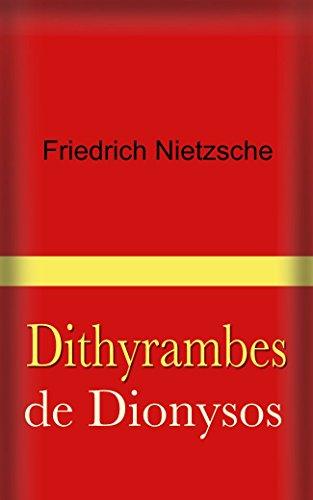 Dithyrambes de Dionysos par Friedrich Nietzsche
