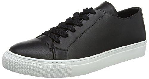 Wood Wood Shoes Herren Alex Shoe Sneaker Low-Tops, Schwarz (Schwarz), 41.5/8 UK (Top Alex)