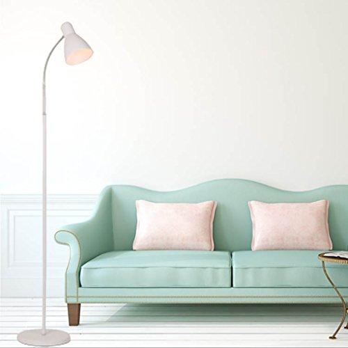 FGLDD Lampadaire Oeil Blanc Lampe de lecture à LED Chambre chevet Salon Salle d'étude lampe Lampe à pied de bureau à la maison taille de la lampe: 25 * 160cm