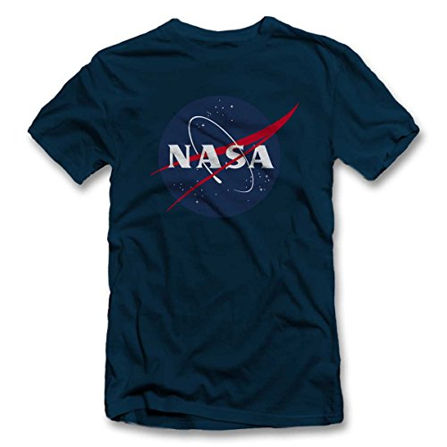 Nasa 2 T-Shirt dunkelblau-navy XL