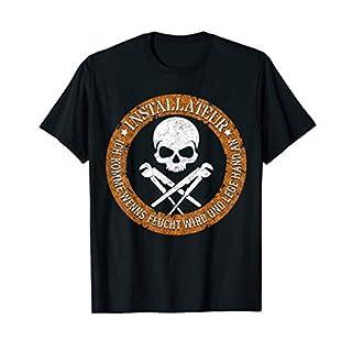 Sanitär Installateur versauter Spruch Männer Herren Klempner T-Shirt