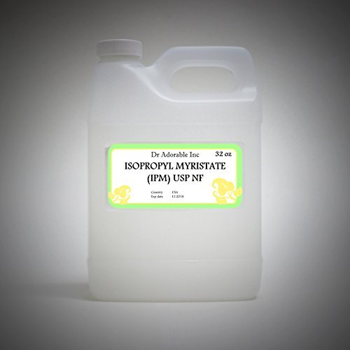 Isopropyl Myristate IPM Lotion and soap additives by Dr.Adorable 32 oz/1 Quart