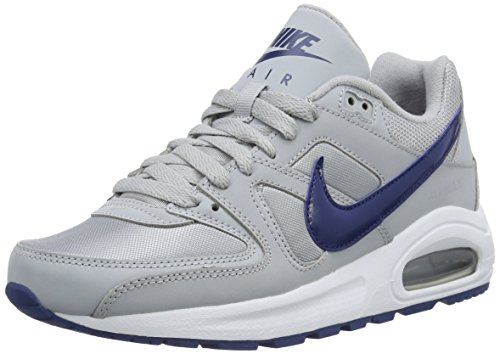 NIKE Air Max Command Flex, Chaussures Multisport Outdoor Mixte Enfant, Gris (Wolf Grey/Coastal Blue White), 39 EU