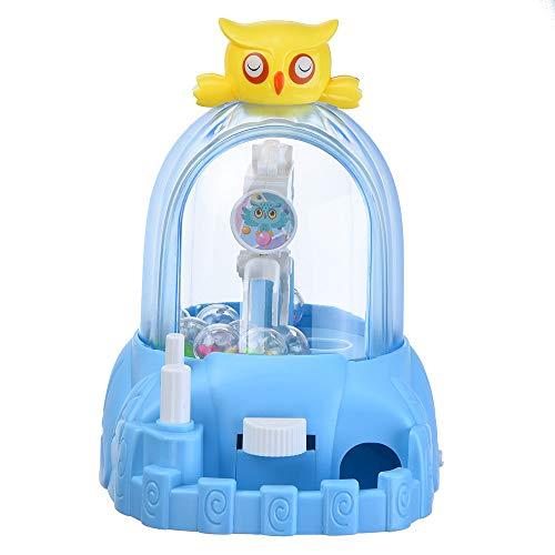 Gaddrt 16x13x18.5 cm Kinder Mini Candy Claw Machine Spielzeug Indoor Arcade-Spiel mit Musik Sounds Spielzeug (Blue)