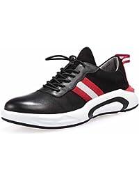 Uomo Inverno Martin Stivali British High Top Retro Europa e America Youth Casual Shoes Shoes ( Color : Black , Size : 43 )