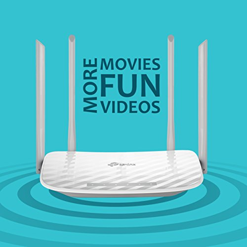 TP-Link Archer C50 Wireless Dual Band Router (White, Not a Modem)