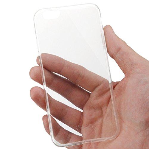 "iPhone 8 / 7 ( 4,7"" ) Hülle, doupi UltraSlim Case [ Kabelloses Laden Unterstützt ] Ultra Dünn Fein Matte Oberfläche Handyhülle Cover Bumper Schlanke Schutz Schale Hardcase für iPhone 8 ( 2017 ) / iPho Transparent"