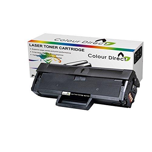Colour Direct Kompatibel Schwarz Toner Patronen Ersatz für SAMSUNG MLT-D101S ML-2160 ML-2165W ML-2168 SCX-3400 SCX-3405 SCX-3405FW SCX-3405W SF-760P SF-760