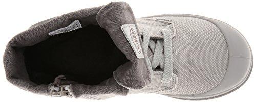 Palladium Baggy Zipper Unisex-Kinder Desert Boots Grau (Vapor/Metal 095)