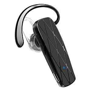 AngLink Auricolare Bluetooth 4.1, Universale Cuffia Bluetooth Mono con Microfono Incorporato Mani Libere per iOS e Android, iPhone, Samsung, Huawei e Altri