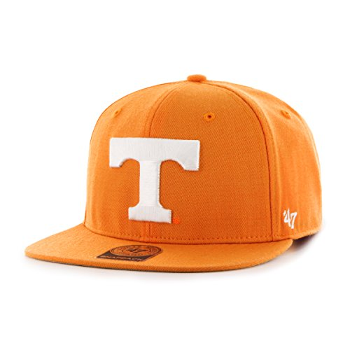 ncaa-tennessee-volunteers-sure-shot-captain-adjustable-snapback-hat-one-size-vibrant-orange