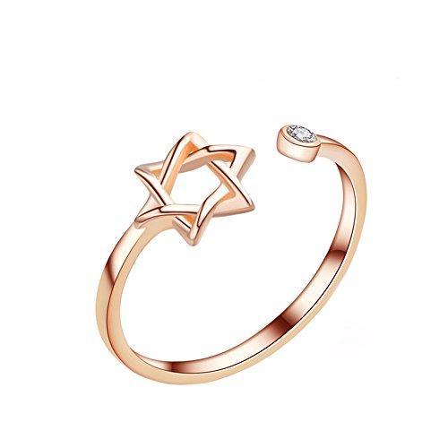 retro-moda-elegante-plata-sola-circonio-cubico-estrella-de-seis-puntas-abierto-ajustables-regalo-nov