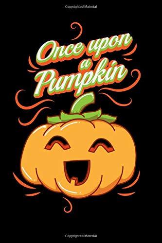 Halloween Pumpkin Notebook - Inspirational Journal & Doodle Dairy: Dimensions: 15.2cm x 22.9cm (6