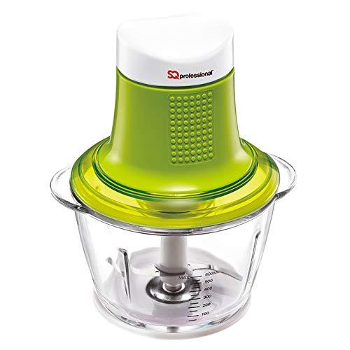 300W Tritatutto Elettrico Da Cucina, Chopper (Verde)
