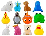 #8: Urbanese Chu Chu Bath Toys (Set of 12 Animals)