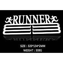 """Wandaufhänger für Medaillen, im """"Runner""""-Design"""