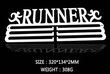 """Wandaufhänger für Medaillen, im """"Runner""""-Design (Schublade Edelstahl Produkte Aus Ziehen)"""