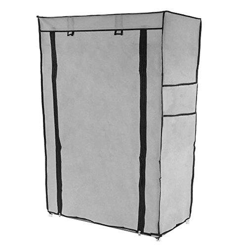 PrimeMatik - Armario ropero y zapatero de tela desmontable 60 x 30 x 9