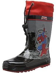 Spiderman Boys Kids Rainboots Boots, Bottes mi-hauteur non doublées garçon