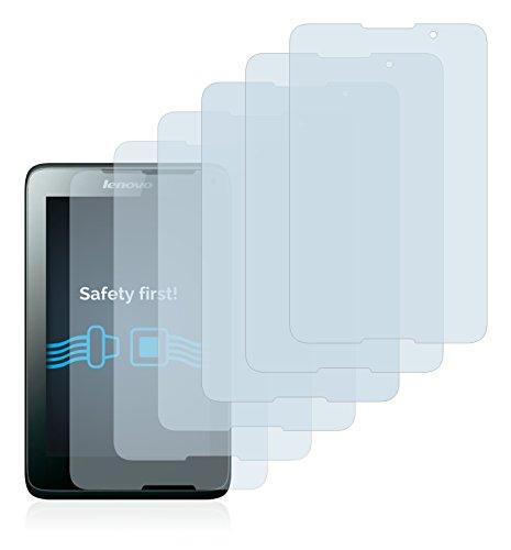Savvies Schutzfolie für Lenovo Tab A7-40 [6er Pack] - klarer Displayschutz