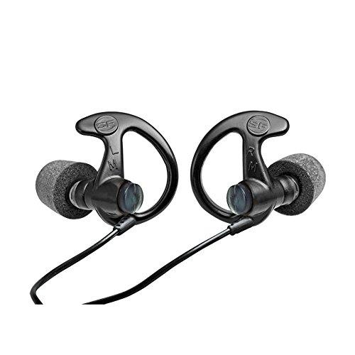 Surefire EarPro EP10 Comply Foam Tipped Full Block Ear Defenders Small Black