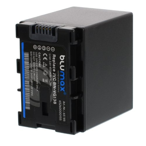 Blumax Akku 4500mAh 3.6V 3.2Wh für JVC BN-VG114E