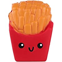 Isuper Frites Squishies Rising Jumbo Squishy Frites Parfumées Squeeze Easter Stress Relief Jouet
