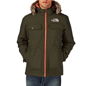The North Face yellowband–Blouson Homme S Verde Fig Green