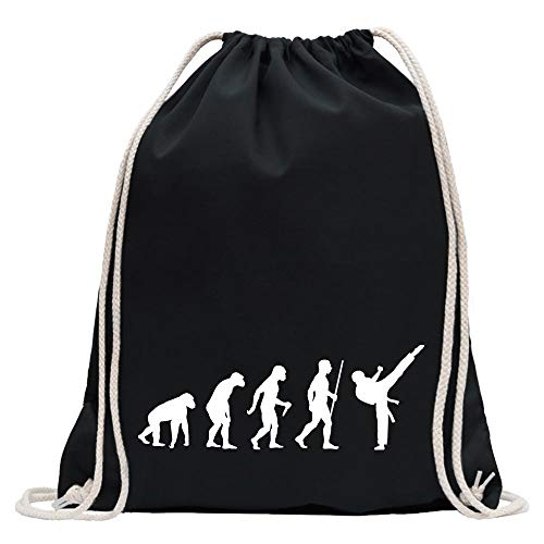 Kiwistar evoluzione di arti marziali di karate zaino stampa design motivo stampato