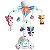Tiny Love Baby-Mobile, hochwertiges 2-in-1 Musik-Mobile mit 18 wundervollen...