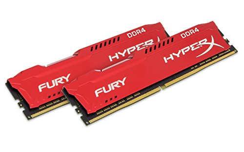 HyperX HX432C18FR2K2/16 Fury Rot Arbeitsspeicher, DDR4, 16GB