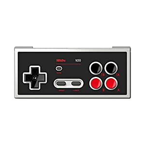 8BitDo N30 Bluetooth Gamepad for Switch Online – Support Turbo and Home [Nintendo Switch Online] [ ]