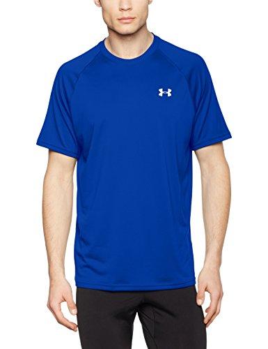 Under Armour Ua Tech Ss Tee Herren Fitness - T-Shirts & Tanks, Blau (Royal White), M