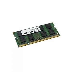 MTXtec Barrette de mémoire vive pour ordinateur portable Toshiba Tecra A8 PTA82E 2 Go
