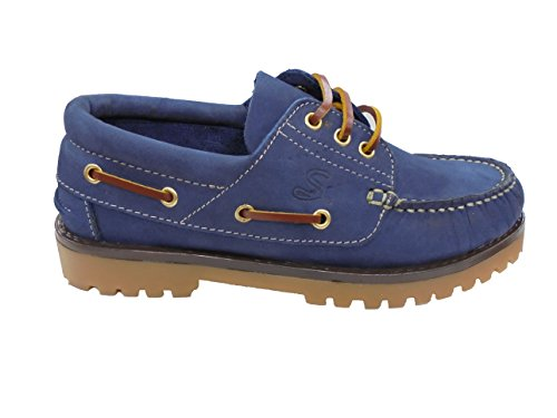 Sachini , Chaussures bateau pour femme Bleu Marine