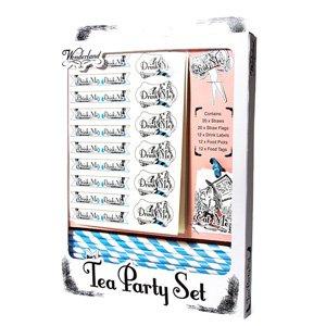 Alice au Pays des merveilles Tea Party Set