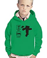 Inspired Funny EAT Sleep and GAMER Hooded Top all sizes Adult, Kids
