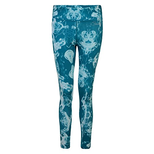 Dare 2b Damen Akzentuierter Tight Printed Leggings Blackebb+Flo