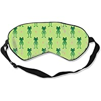 Eyes Mask Comfort Happy Green Frogs Silk Mask Contoured Eye Masks for Sleeping,Shift Work,Naps preisvergleich bei billige-tabletten.eu