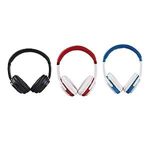 xianjun Bluetooth-Kopfhörer mit Mikrofon – Wireless Stereo Over Ear Headsets mit 14 Stunden Spielzeit – 2 Treiber mit 40 mm Durchmesser