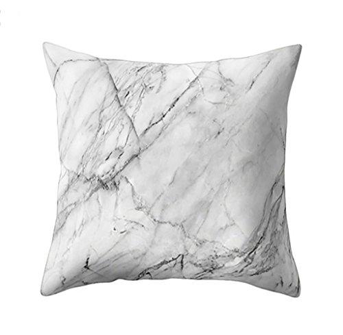Cojín, resplend geométrico mármol textura Cojín cuadrado decorativo Cojín caso almohada sofá wohnkultur