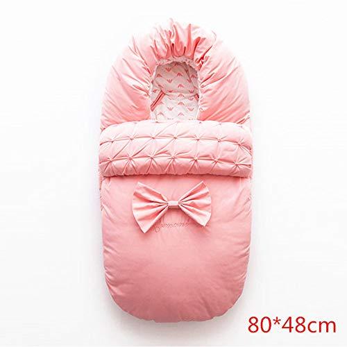L&Z Baby-Schlafsack Schlafsack Swaddle Tasche für Neugeborene Kleinkind 1-48 Monate auf Winter-für...