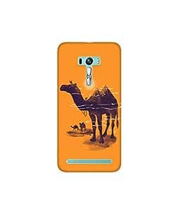 Kolor Edge Printed Back Cover for Asus Zenfone Selfie - Multicolor (4400-Ke10114ZenSelfieSub)