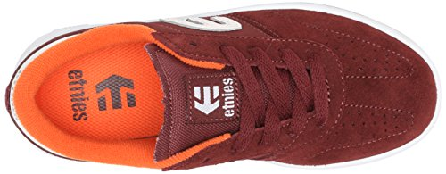 Etnies KIDS LO-CUT Unisex-Kinder Skateboardschuhe Red - Burgundy