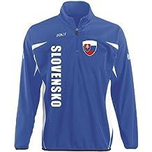 Slowakei Sport Pullover BLAU SWEATER Trikot look