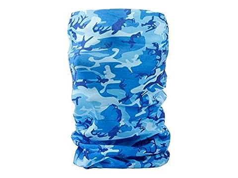 Foulard multifonction sans couture en forme de tube, tour de